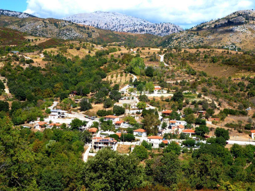 Οικισμός, αγροτικές εκτάσεις και δασικές εκτάσεις